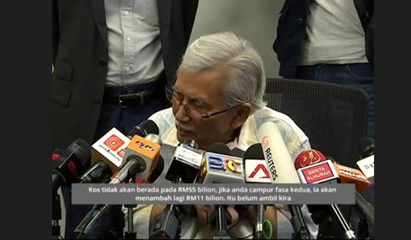 [Video]Kata Daim Kos ECRL RM66 bilion pulak !!!