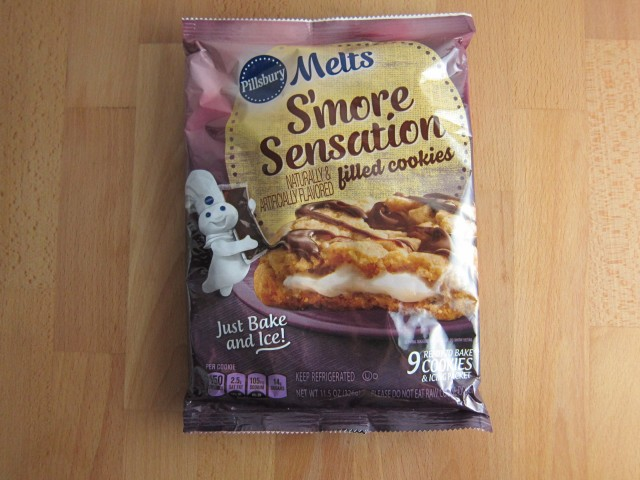 Review Pillsbury Melts S Mores Sensation Filled Cookies