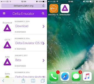 Cara Install Delta Emulator Pada iOS 10 Tanpa Jailbreak iPhone