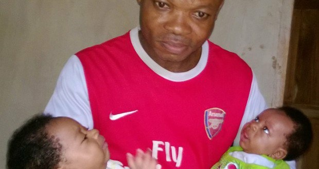 emeka uche returns home