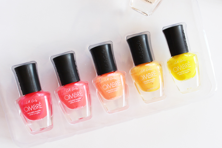 NOTD // L.A. Girl Ombre Nail Set in Girl's Night Out - CassandraMyee