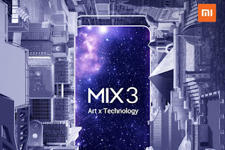 Mi mix 3 launching