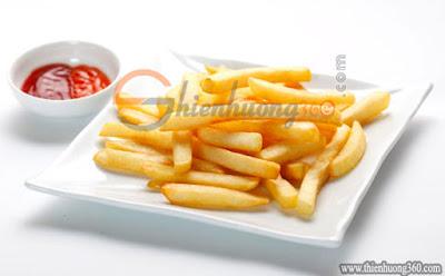 Ăn nhiều khoai tây chiên không tốt cho răng