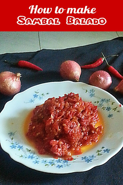 How to make Sambal Balado Recipe @ treatntrick.nlogspot.com