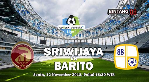 Prediksi Sriwijaya FC vs Barito Putera 12 november 2018