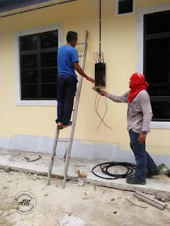 Rumah Idaman : Pemasangan Wayar Servis TNB