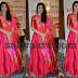 Sneha Long Length Pink Salwar
