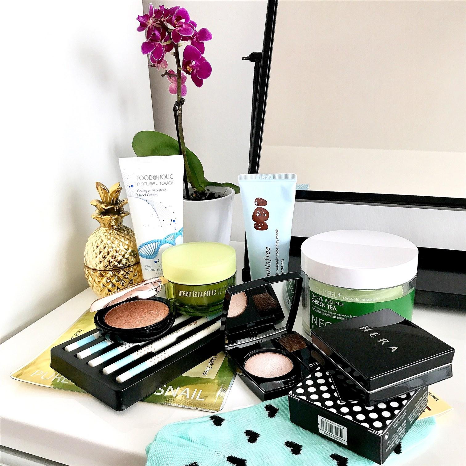 zdjęcie przedstawiające nowości z kosmetyków koreańskich