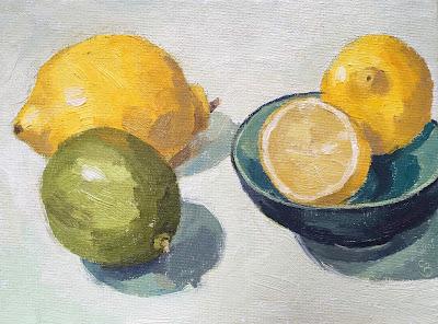 #77 'Citrus' 6×8″