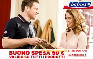 Logo Buono spesa Bofrost scontato del 40%