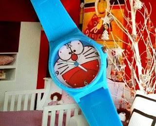 Jam Tangan Anak Karakter Kartun Doraemon