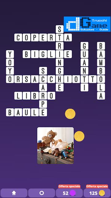 Soluzioni One Clue Crossword livello 19 schemi 15 (Cruciverba illustrato)  | Parole e foto