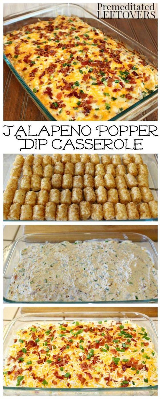 Jalapeno Popper Casserole