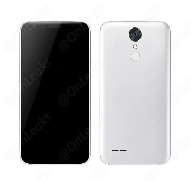 Hình ảnh được cho là điện thoại LG LV5 đã được OnLeak đăng tải