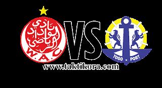 مشاهدة مباراة الوداد وتوغو بور بث مباشر28-08-2018 دوري أبطال افريقيا