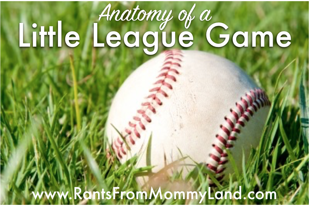 RANTS FROM MOMMYLAND: Anatomy of a Little League Game
