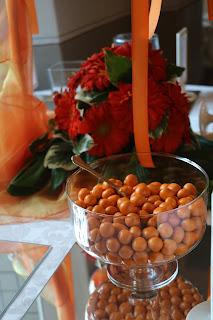 Confettata in arancione - Castello dei Solaro