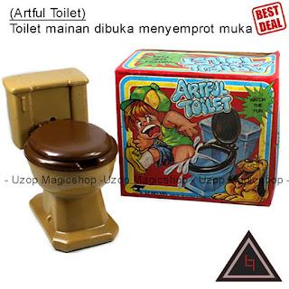 Jual mainan anak alat jahil artful toilet closet