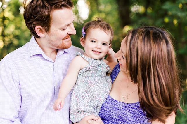 Summer Family Maternity Photos in Jones Point Park Alexandria, VA by Heather Ryan Photography