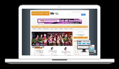 Download Responsive Blogger Shoppinc Cart Theme