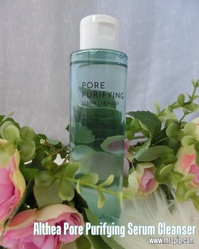 Althea Pore Purifying Serum Cleanser || Efektif mencuci wajah dan menanggalkan solekan