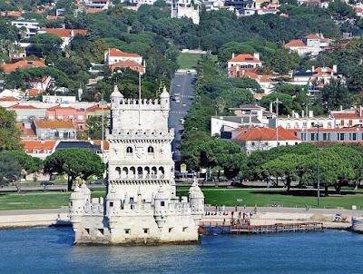 Iberian Peninsula, Пиренейский полуостров, Лиссабон, Португалия. Lisbon, Portugal вид на город