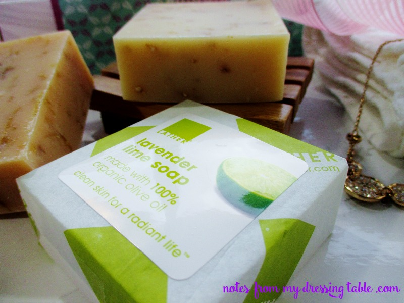 LATHER Your Mother's Day Natural LATHER Lavender Soap