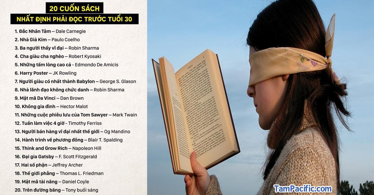 Top 20 cuốn sách nhất định phải đọc trước tuổi 30 với Tony Buổi Sáng