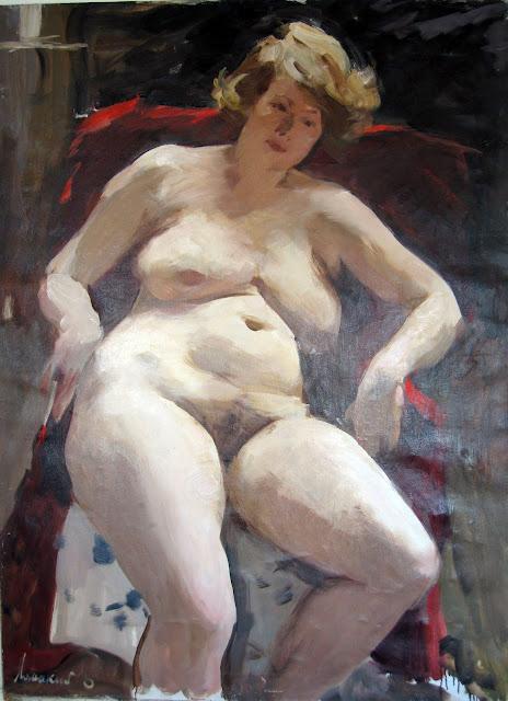 Oleg Lomakin, Artistic nude, The naked in the art, Il nude in arte, Fine art