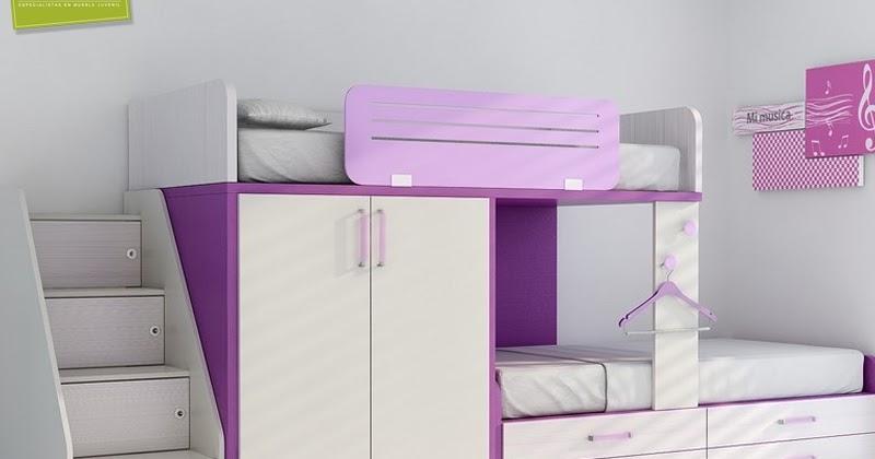 Muebles juveniles dormitorios infantiles y habitaciones - Camas tipo tren ...