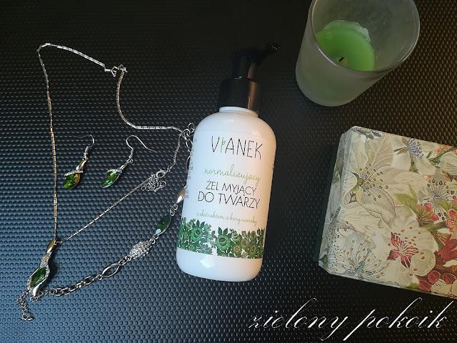 Kosmetycznie: Vianek - Normalizujący żel myjący do twarzy