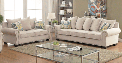 Maggy Transitional Style Sofa Furniture