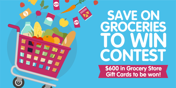 Enter to Win 1 of 8 Grocery Cards