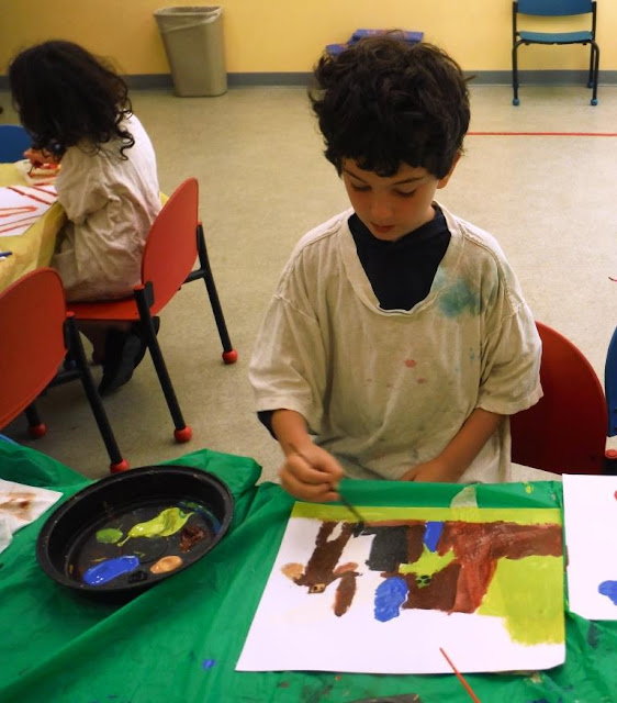 Paint (Collage) and Read: Matisse