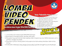 Tunjukkan Kreativitasmu disini : Yuk Ikut di Lomba Video Pendek Jurnalisme Siswa