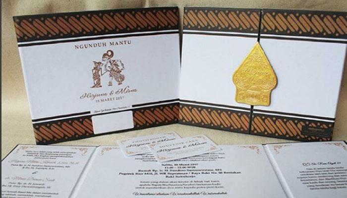 Contoh Isi Undangan Pernikahan Bahasa Jawa Undangan Pernikahan