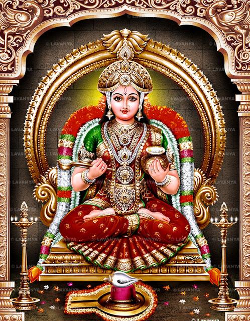 Annapurna Devi Ashtottara Shatanamavali