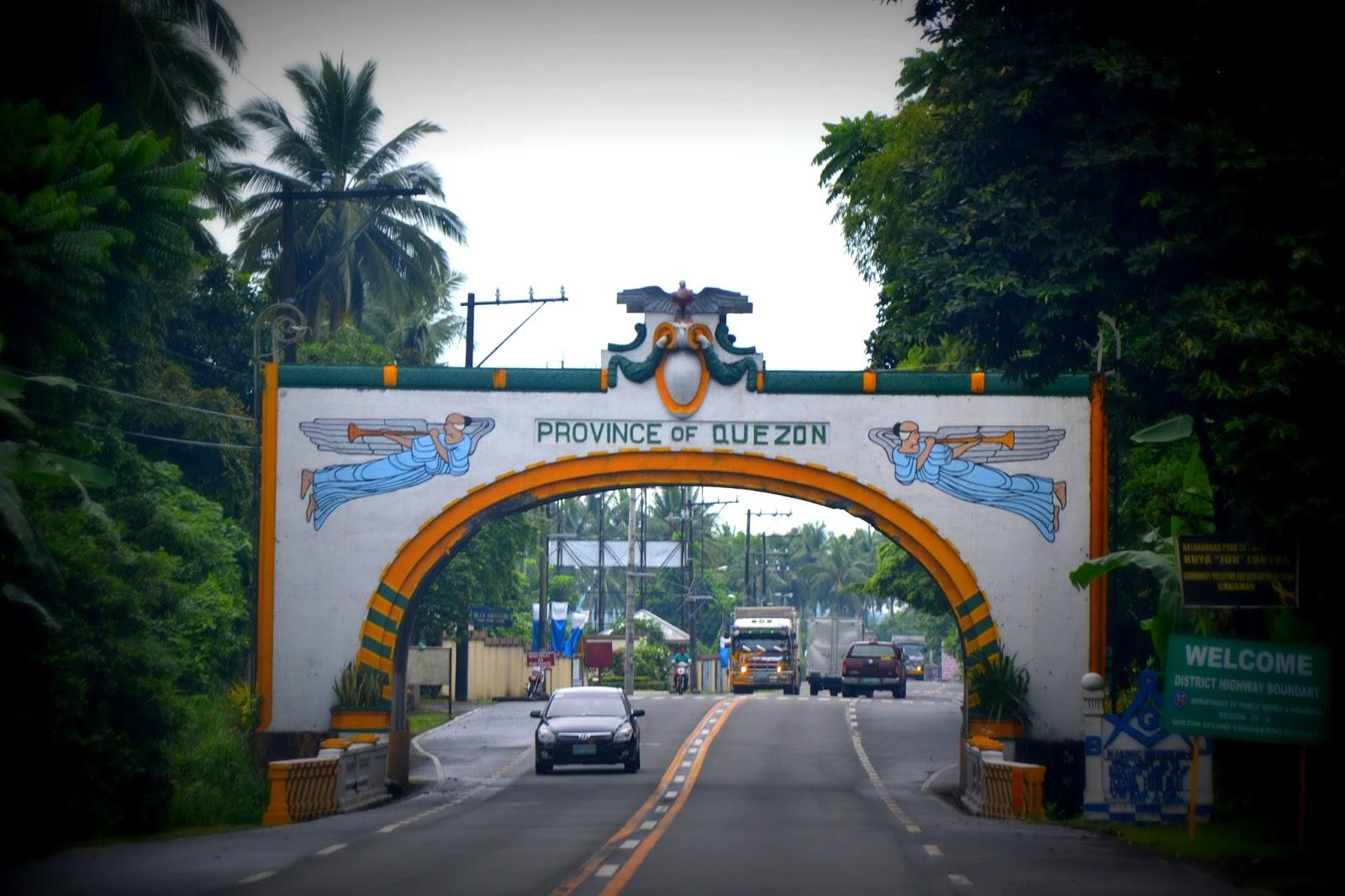 quezon landmarks of quezon province