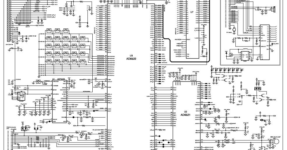 Esquema Elétrico: LG 510W Circuit Diagram