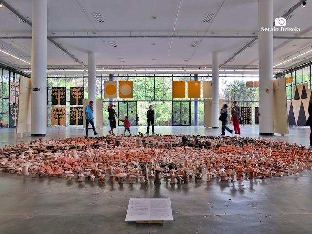 Obra-Conjunto Vivam os Campos Livres - Bienal de SP 2018 - Ibirapuera - São Paulo