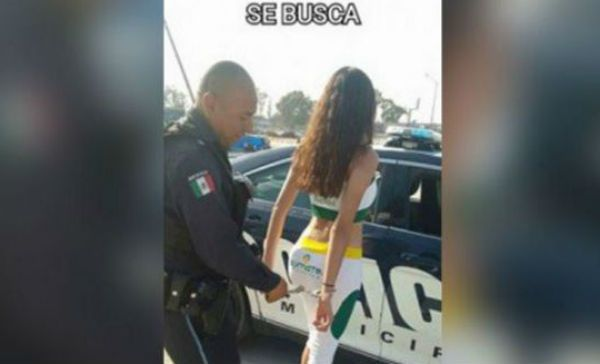 """Policías despedidos por detener """"edecán fugitiva"""""""