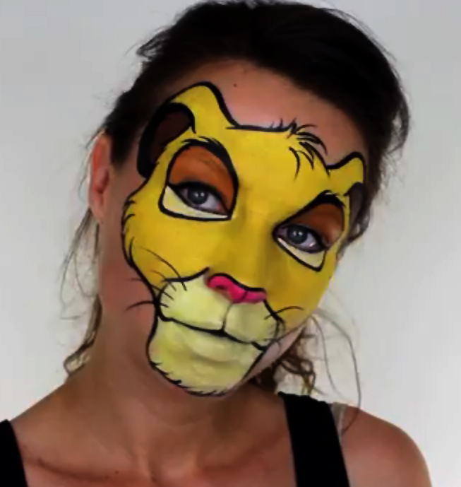 Haut Maquillage Roi Lion EU65