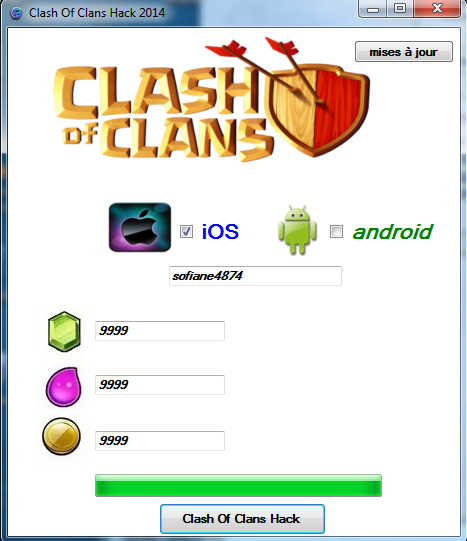 clash of clans hack 2014
