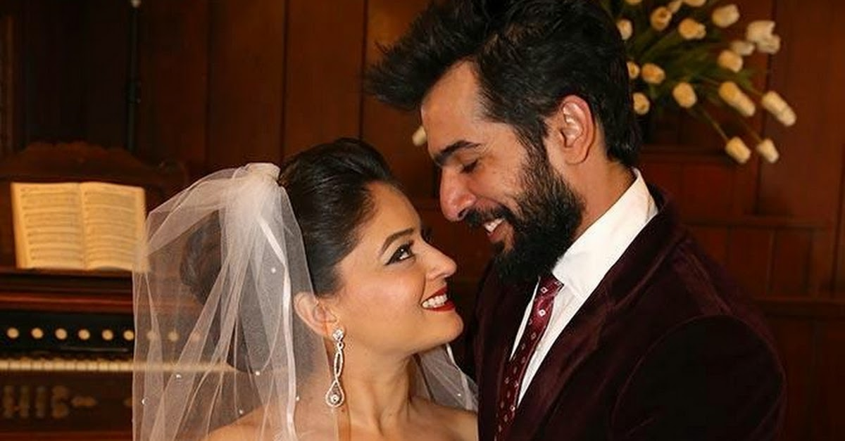 Jay Bhanushali Mahi Vij Wedding Pics From Usa Las Vegas