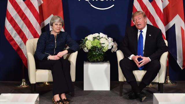 May evitará reunirse con Trump en Londres por temor a protestas