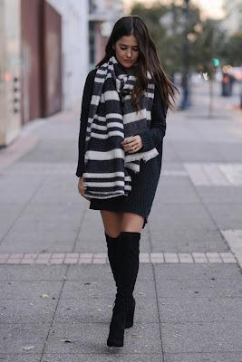 botas negras para invierno
