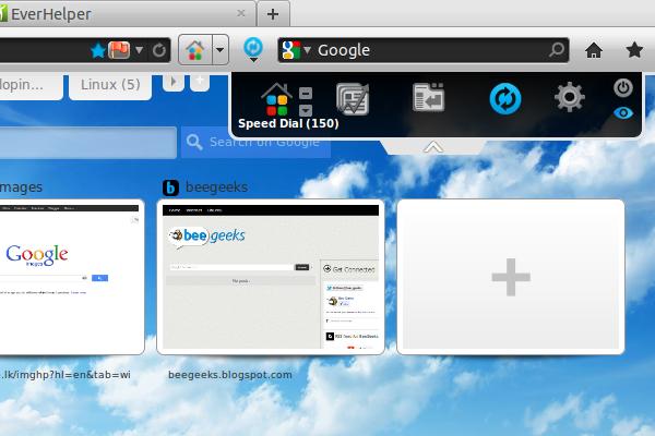 FVD Speed Dial + EverSync for Firefox & Chrome