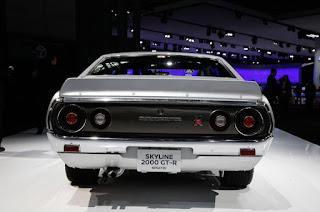 1973 Nissan Skyline 2000GT-R Rear