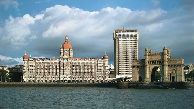 Gateway of India siteview from Hotel Taj Mumbai