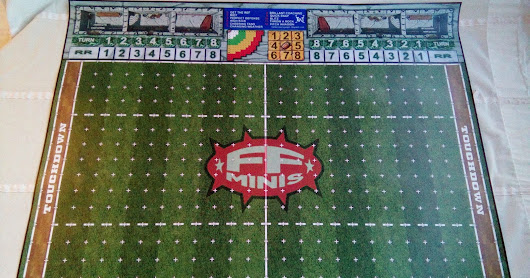 Campo FF-Minis grass Fantasy Football Field 34mm.